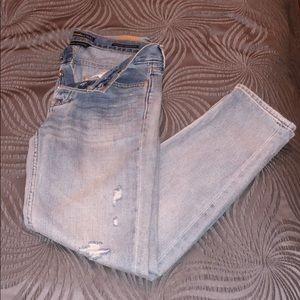 Women's denim jeans